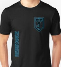 Ingress Resistance - Alt colors with text Unisex T-Shirt