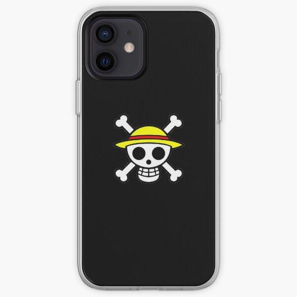 Skull Pirate Crane Chapeau Coque souple iPhone