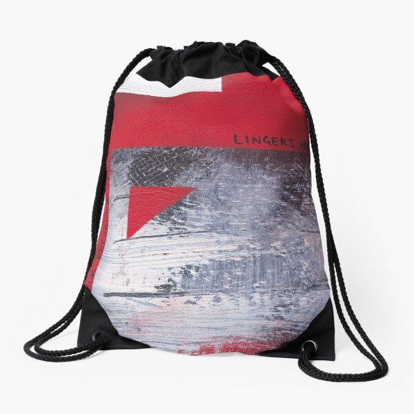 Your Presence Still Lingers Here Drawstring Bag