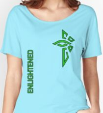Ingress Enlightened with text - alt Women's Relaxed Fit T-Shirt
