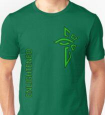 Ingress Enlightened with text - alt Unisex T-Shirt