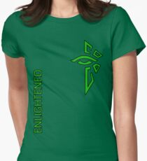 Ingress Enlightened with text - alt T-Shirt