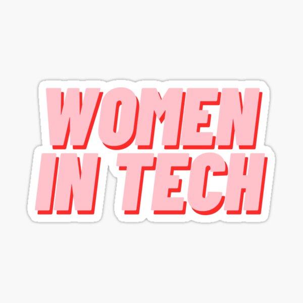 Women in Tech Sticker