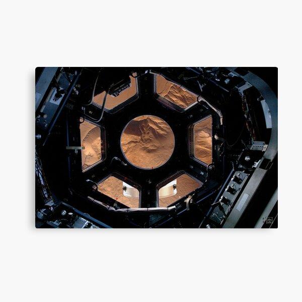 Orbiting Mars Canvas Print