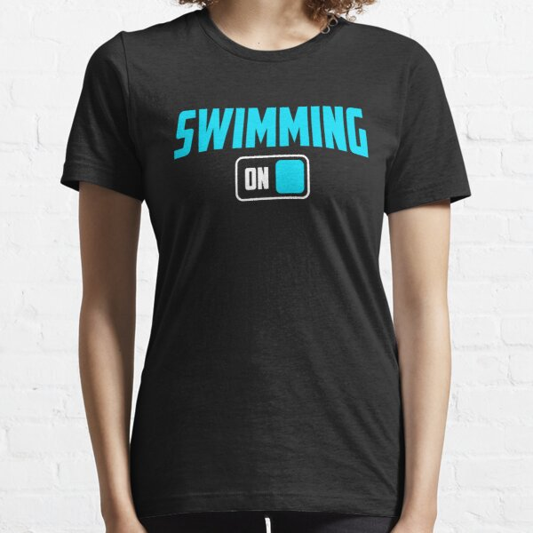 swimming on  Essential T-Shirt