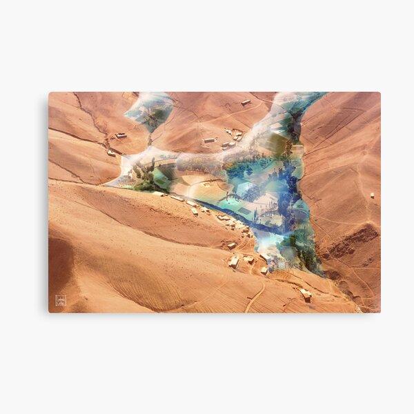 Martian Oasis Canvas Print