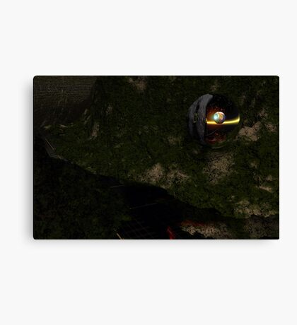 To Find Another Earth Canvas Print