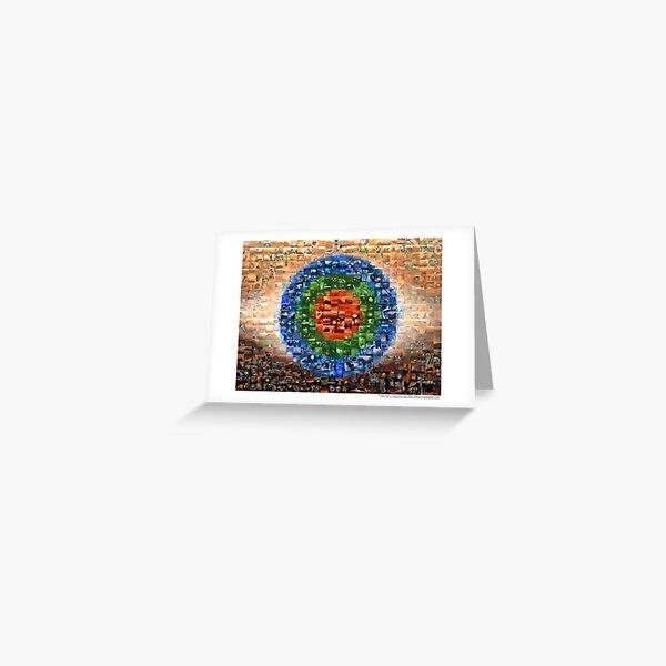 The Mars Trilogy Mosaic Greeting Card
