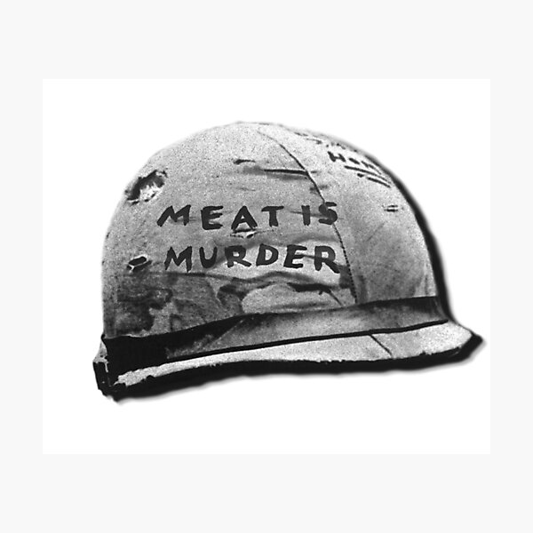 Meat is Murder Photographic Print