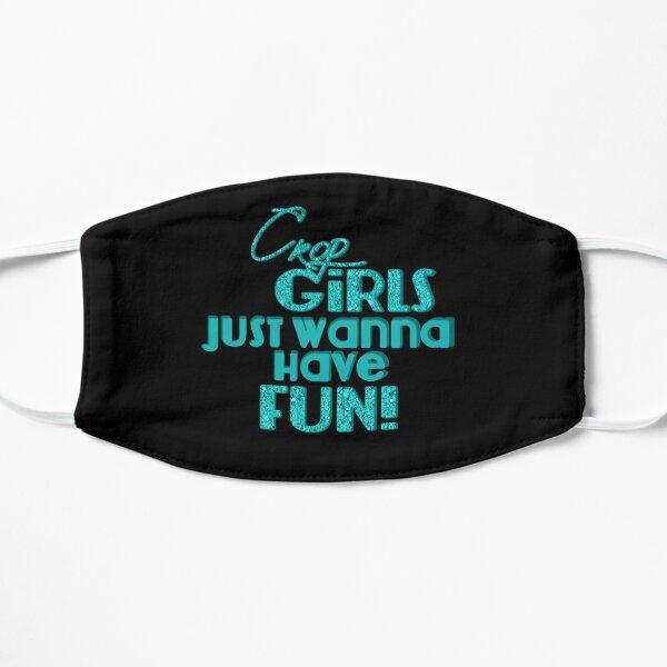 Crop Girls Just Wanna Have Fun - black background Mask