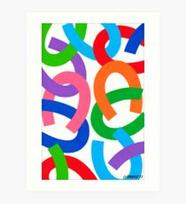 HORSESHOE ART Art Print
