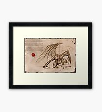 Draconis Birth Framed Print