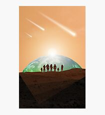 Martians Photographic Print