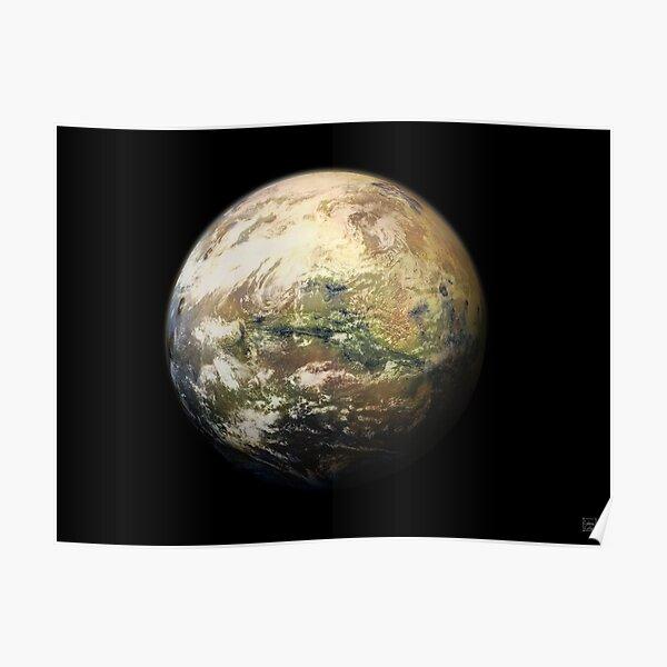 Green Mars Poster