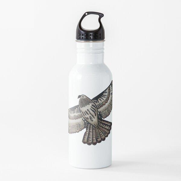 Red Tailed Hawk in Flight Water Bottle