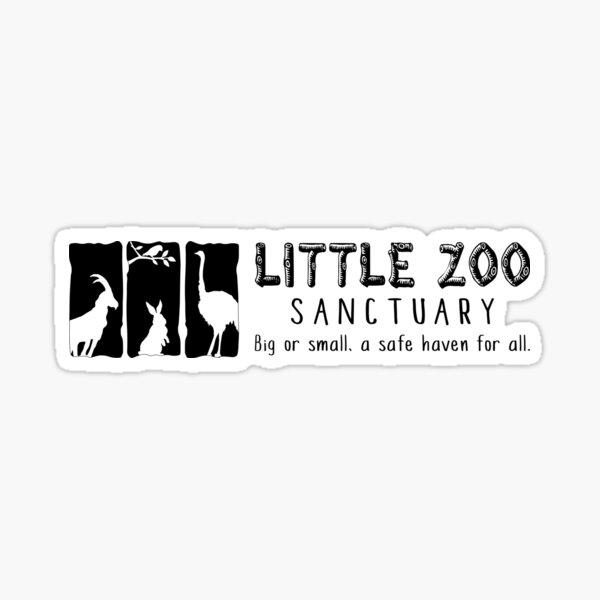 LZS Noir Logo Sticker