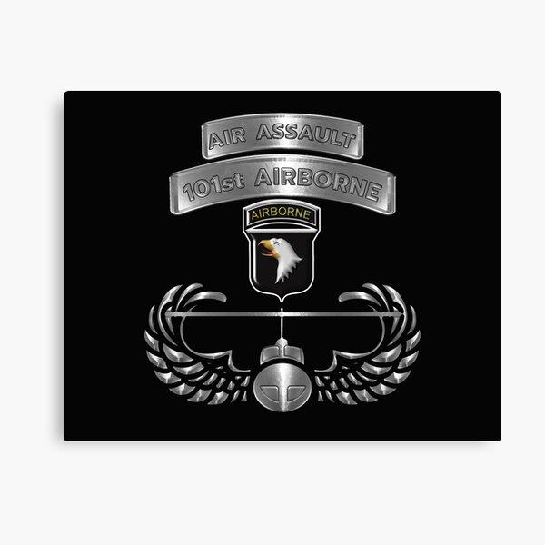 101st Airborne Division Air Assault  Canvas Print