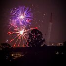 Fireworks 1 by Sherene Clow