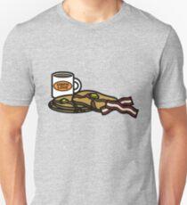 Mulche's Breakfast Slim Fit T-Shirt