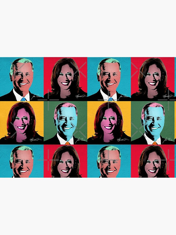 BIDEN HARRIS Pop Art Portrait by popdesigner