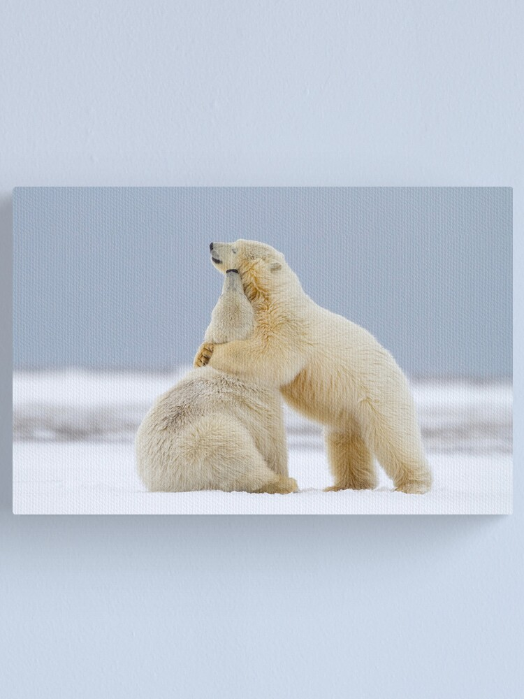 Alternate view of Tender Moments Canvas Print