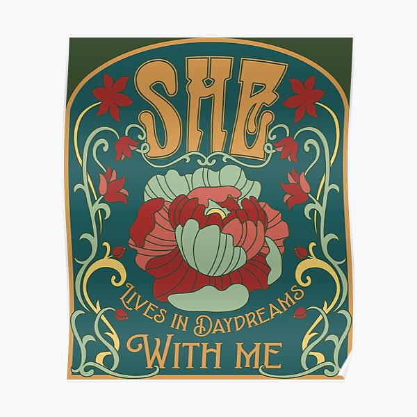SHE (Art Nouveau Version) Poster