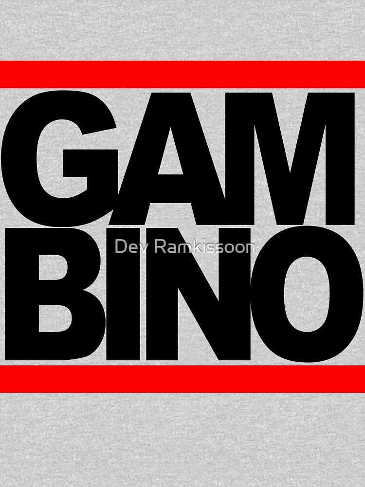 RUN GAMBINO | V-Neck