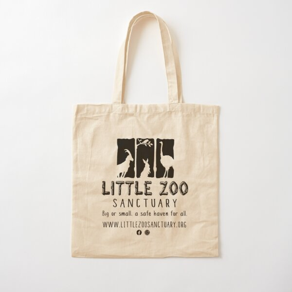 LZS Full Noir Cotton Tote Bag