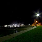 Port Albert By Night by Sherene Clow