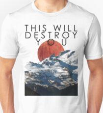 Camiseta ajustada Horizonte