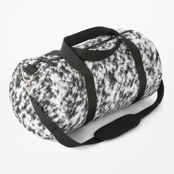 BLACK AND WHITE BACKGROUND WALLPAPER Duffle Bag