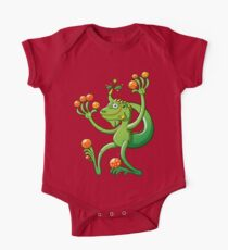 Christmas Iguana One Piece - Short Sleeve