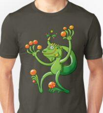 Christmas Iguana Slim Fit T-Shirt