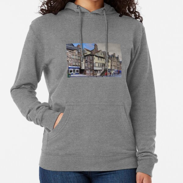 John Knox's House at the Netherbow Lightweight Hoodie