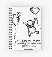 Quote Of Love Spiral Notebook