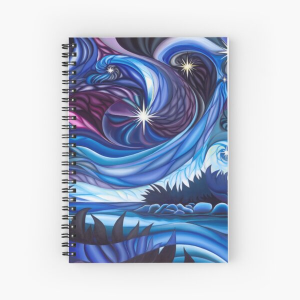Lost In the Stars Spiral Notebook