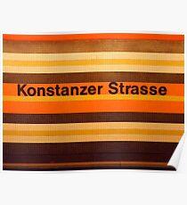Konstanzer Straße Poster