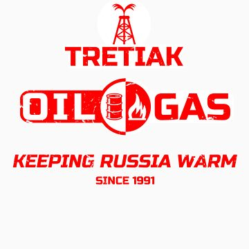Tretiak Oil & Gas by jabbtees