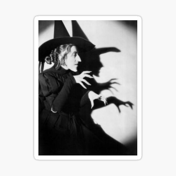 bad witch Sticker