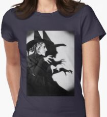 bad witch Women's Fitted T-Shirt
