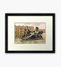 Sculptures In The Garden - 1 ©  Framed Print