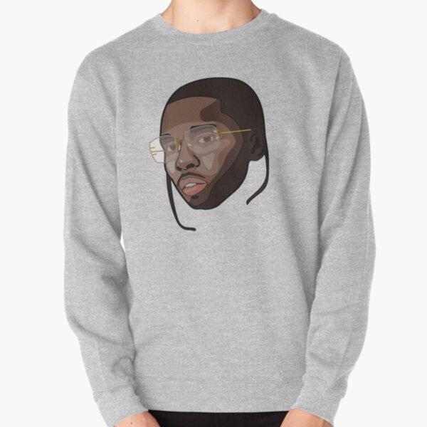 Pop Smoke Face Pullover Sweatshirt