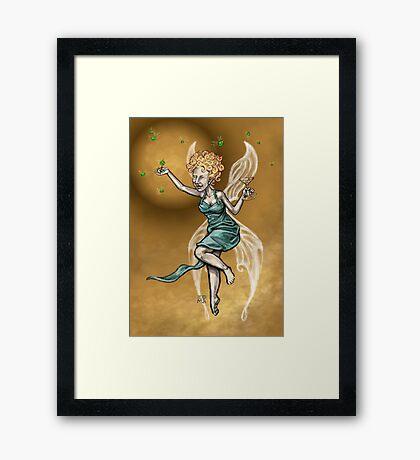 Martini Fairy Framed Print
