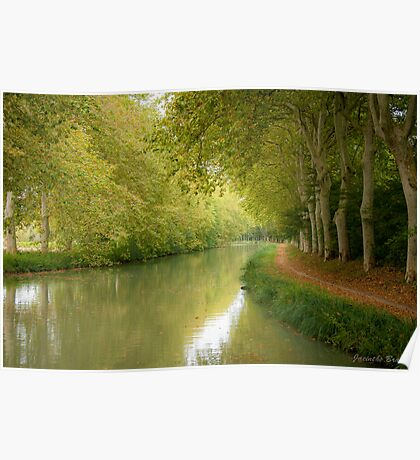 Canal du Midi 11 Poster