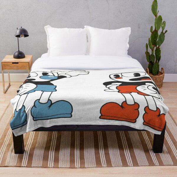 Cuphead Mugman Throw Blanket