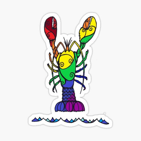 Pride Lobster Sticker