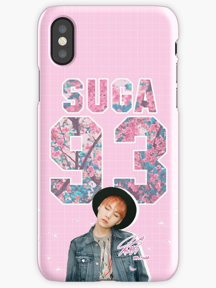 In the Mood for Suga Phone Case by cafelatteshop