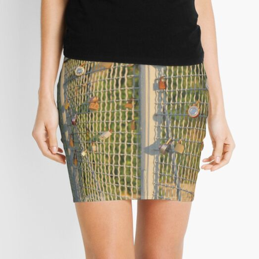 New York City, Brooklyn, Bay Ridge, Fence Mini Skirt