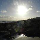 Sunlight On The Beach by LindyLouMac
