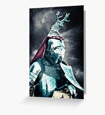 The Jackalope Knight Rides Again! Greeting Card